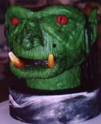 Orc head cake